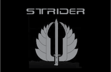 Strider knives logo