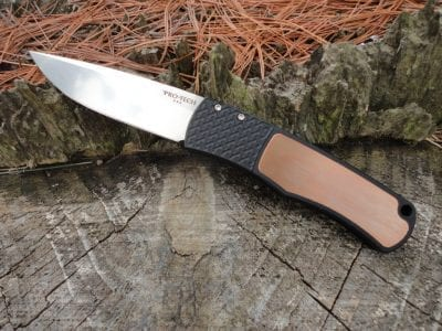 ProTech BR-1.61 Copper Inlay Magic Automatic Knife