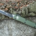 Microtech 121-1OD, OD Green Handle Ultratech