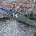 Microtech 142-1OD OD Green Combat Troodon