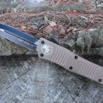 Microtech 142-1TA Tan Combat Troodon
