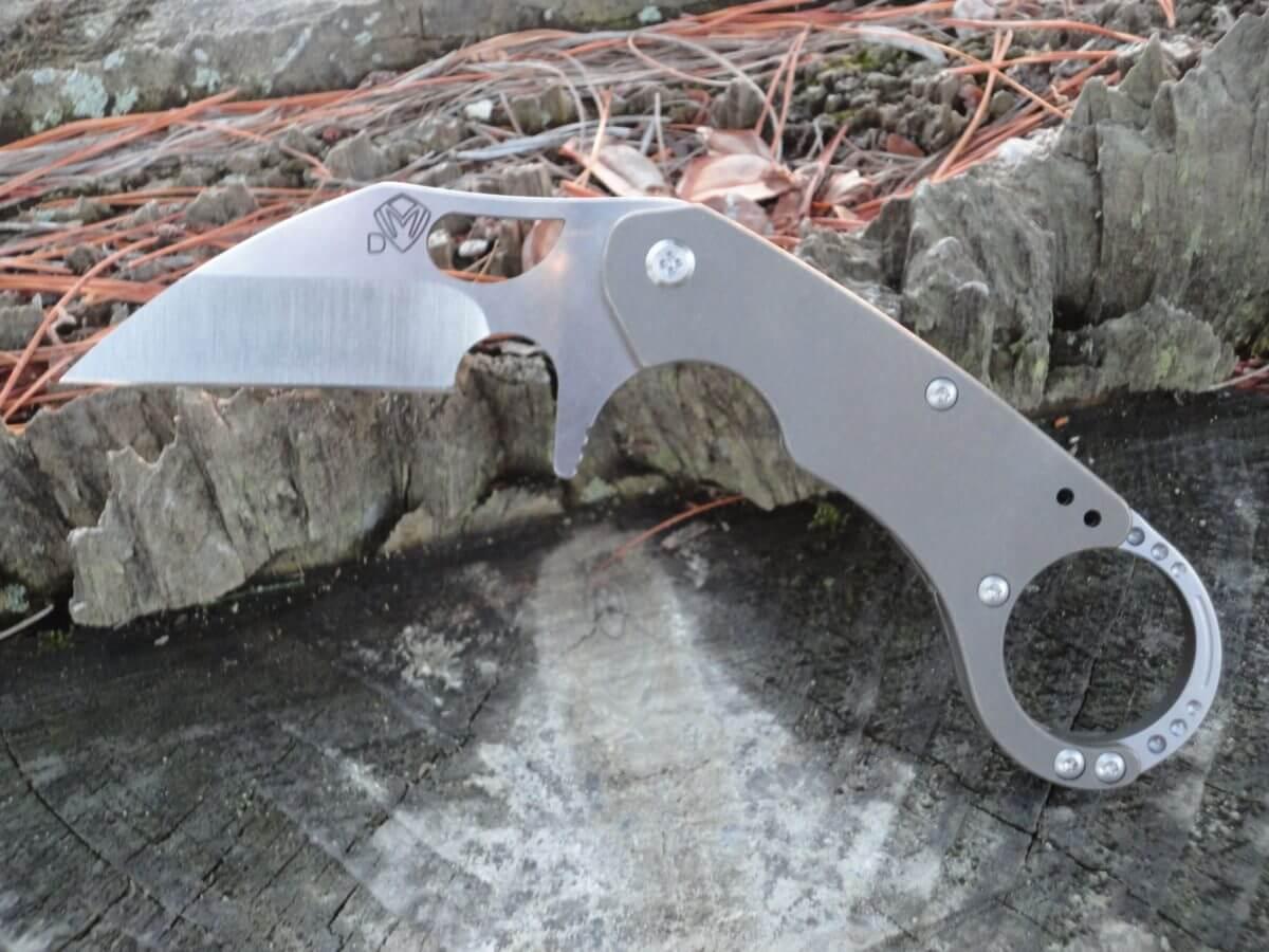 Medford Burung Titanium Folding Karambit