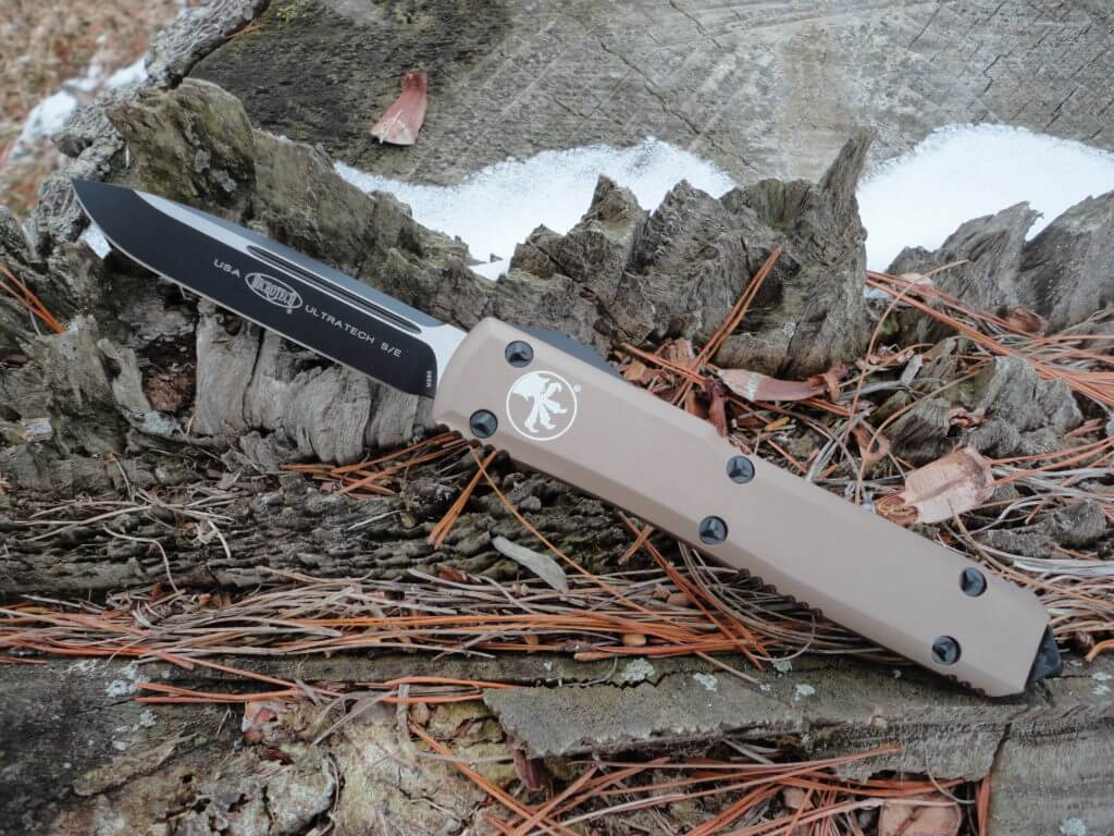 Microtech 121-1TA, Tan Handle Ultratech