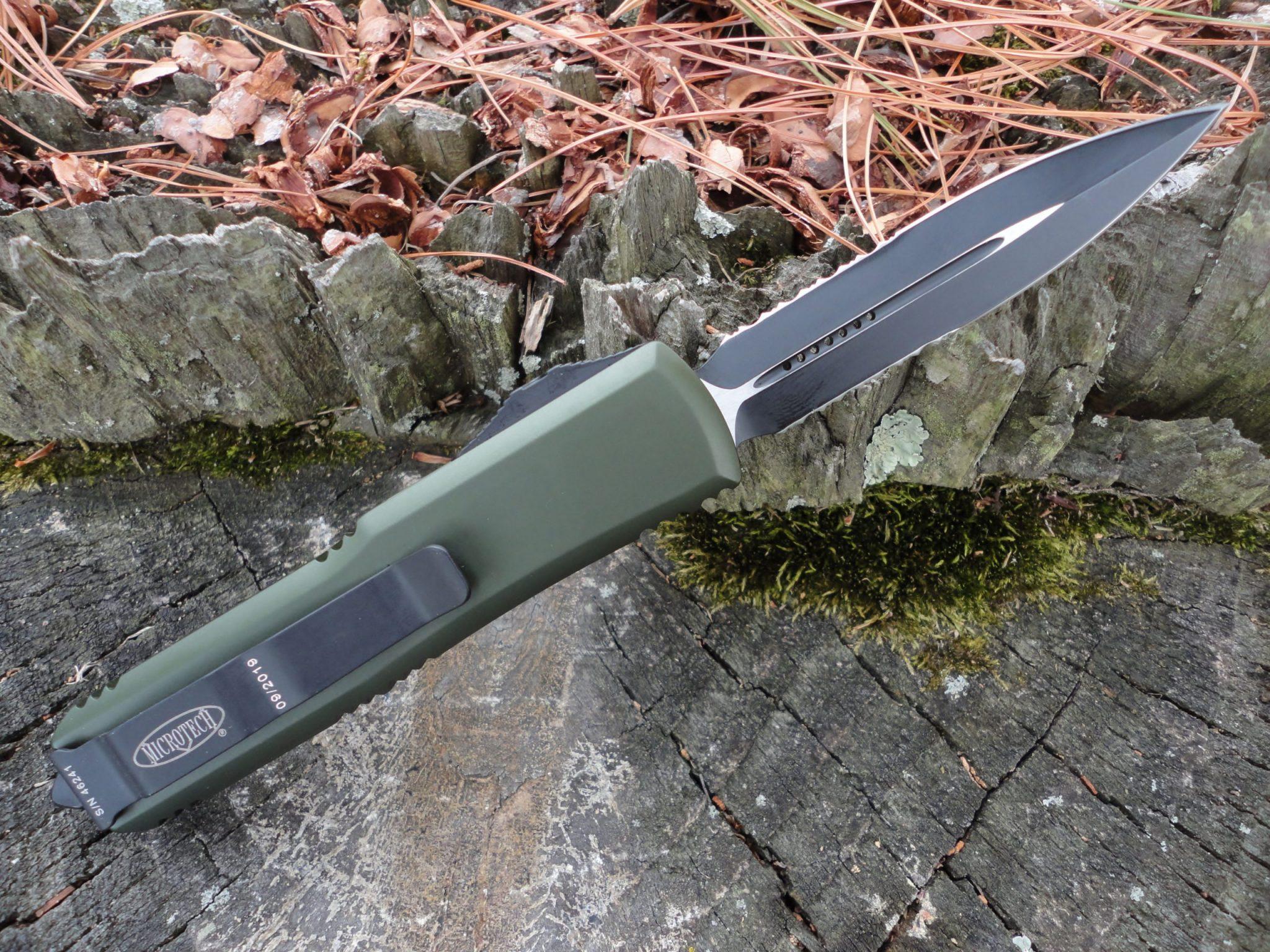 Microtech 232-2OD OD Green UTX-85
