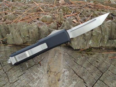 Microtech 233-4 Satin Tanto Blade UTX-85