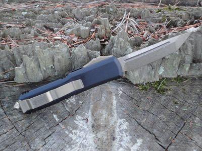 Microtech 233-13, Bronze Tanto Blade UTX-85