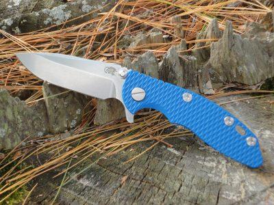 Hinderer Knives XM-18 3.0 Spearpoint - Blue