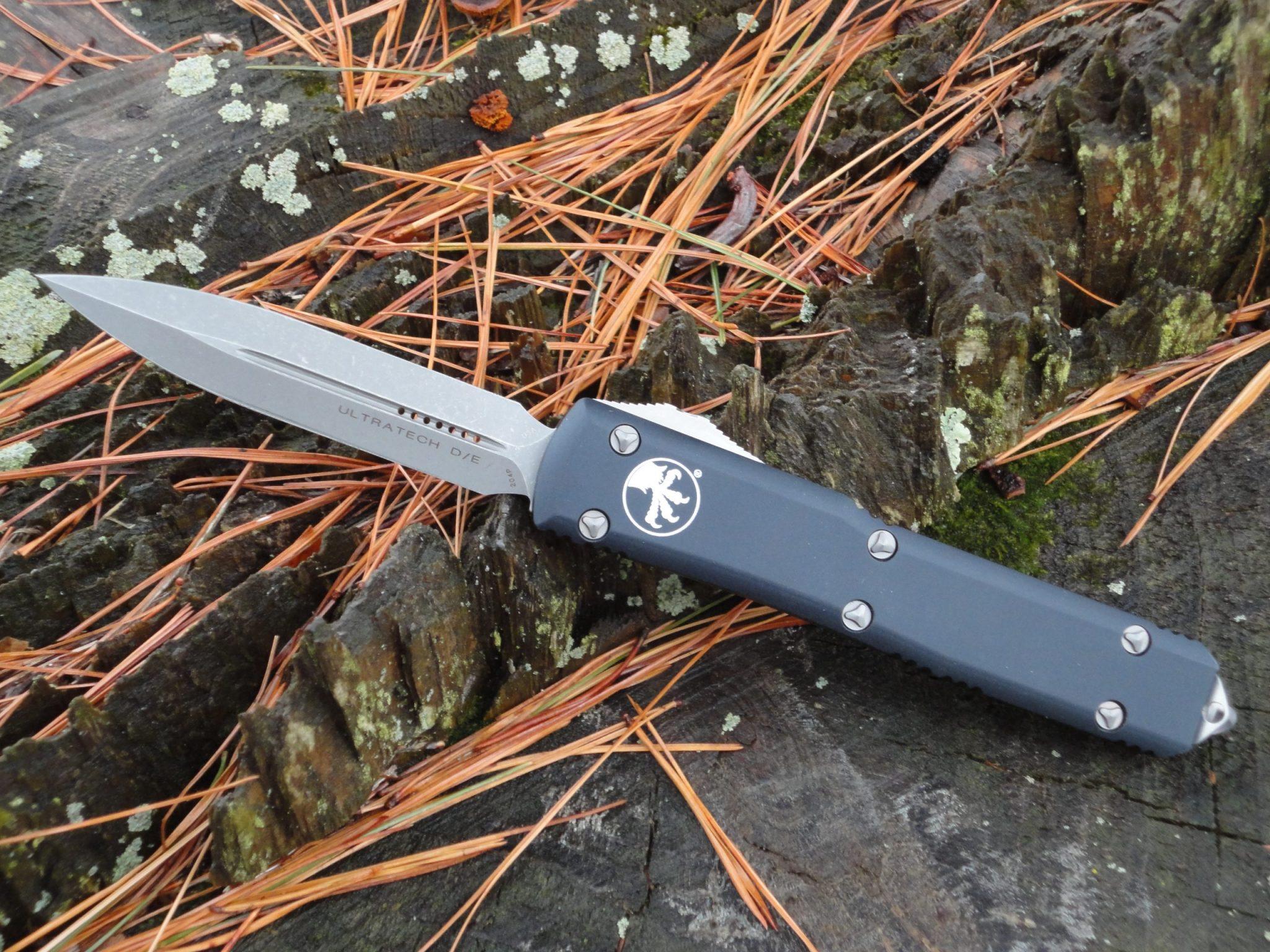 Microtech 122-10AP Black Ultratech