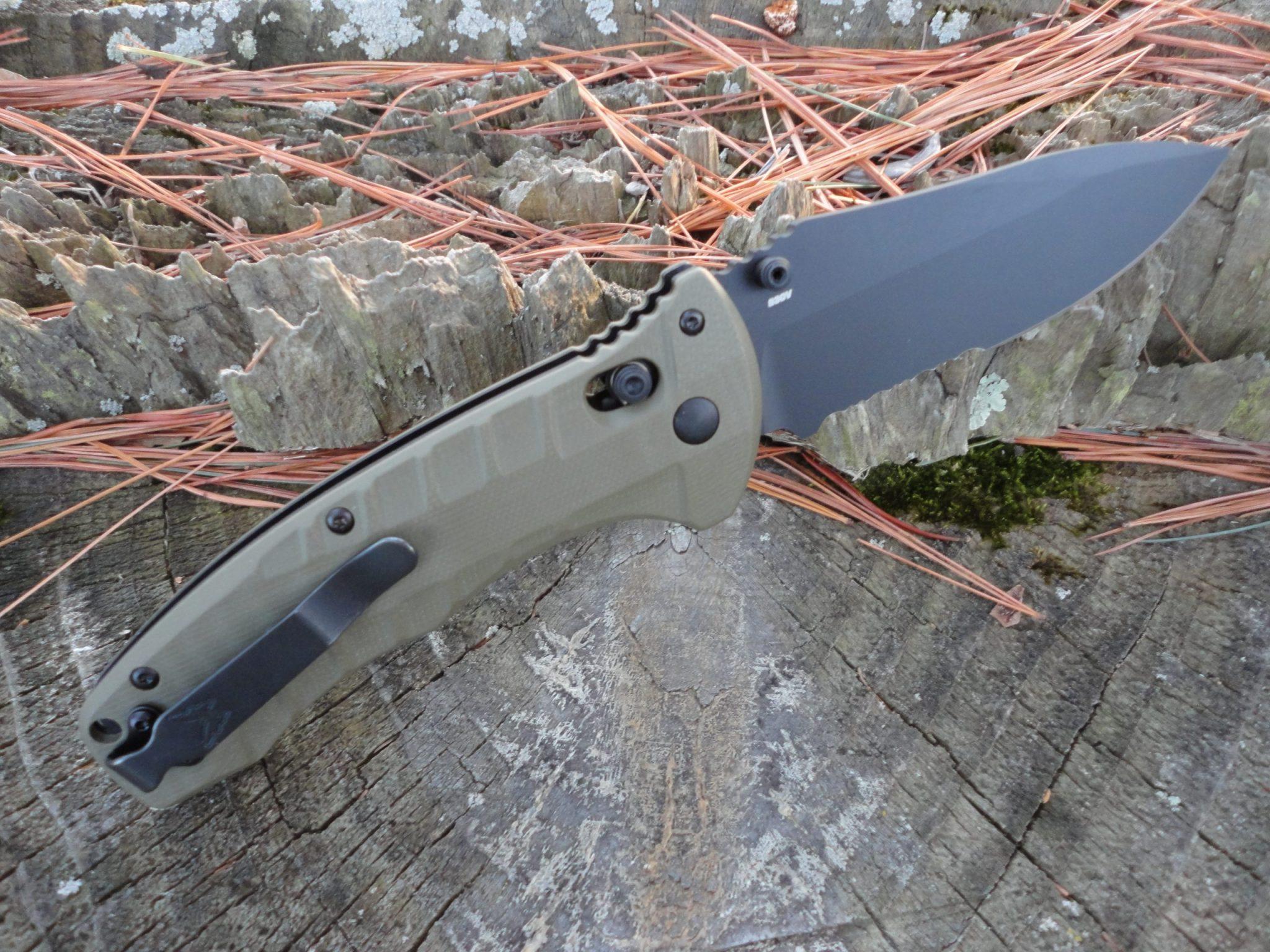 Benchmade 980SBK Turret AXIS Lock