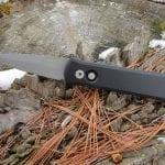 ProTech 720 Black Godson Automatic Knife
