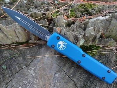 Microtech 122-1BL Blue Ultratech