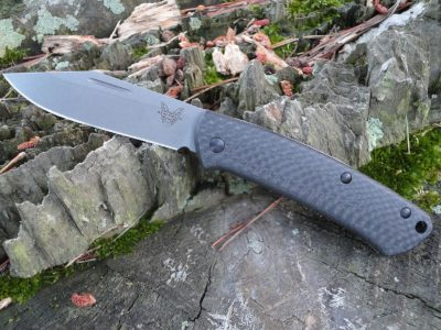 Benchmade 318-2 Proper-Carbon Fiber Handle