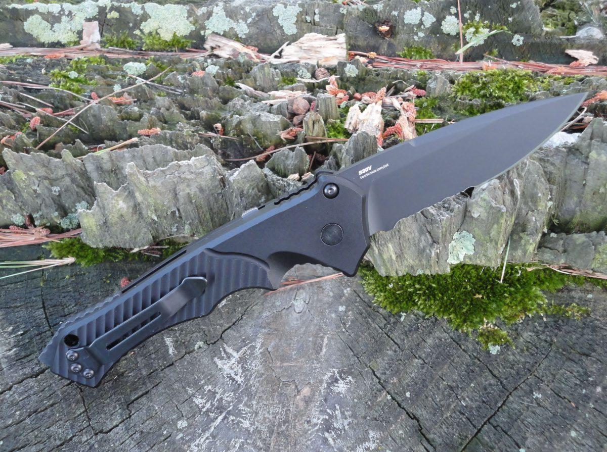 Benchmade 9600SBK Rukus II Automatic