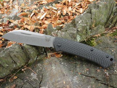 Benchmade 319-2 Proper-Carbon Fiber Handle