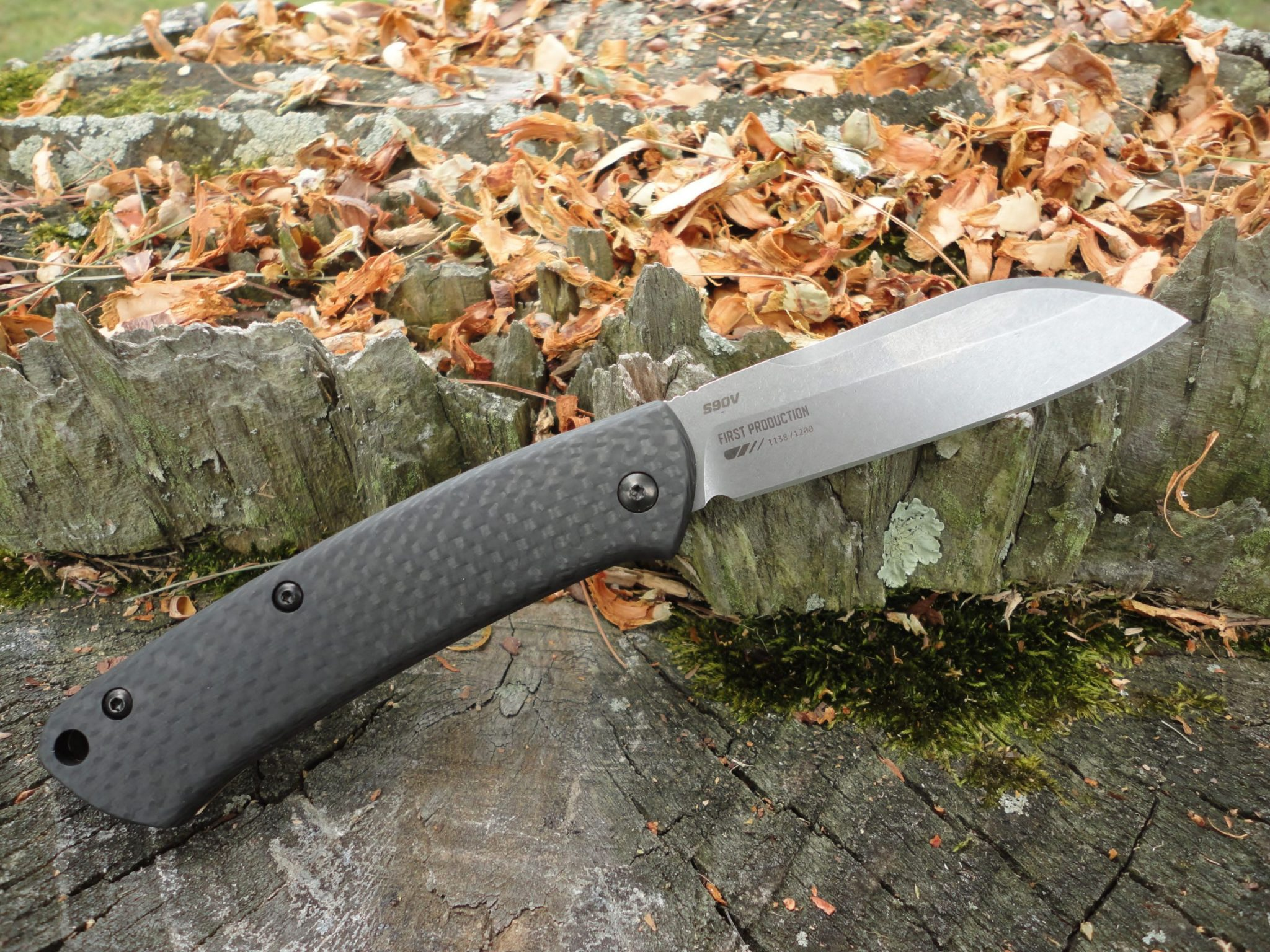 Benchmade 319-2 Proper-Carbon Fiber Handle