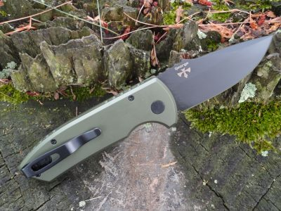 ProTech LG407-GREEN SBR (Short Blade Rockeye)