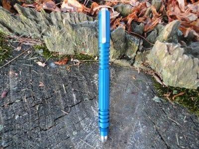 Hinderer Investigator Pen-Matte Blue
