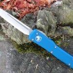Microtech 149-4BL Blue UTX-70