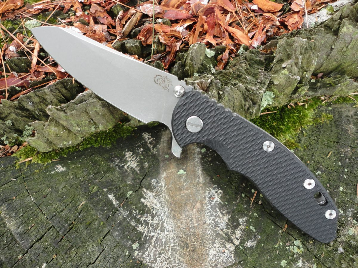 Hinderer XM-18 3.5 Skinny Sheepsfoot - Black