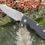 Hinderer XM-18 3.5 Skinny Sheepsfoot - Black