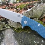 Hinderer XM-18 3.5 Spanto Battle Blue - Blue/Black
