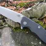 Hinderer XM-18 3.5 Spanto Battle Blue - Black