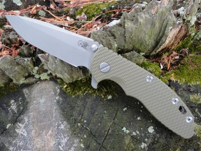 Hinderer XM-18 3.5 Spanto Battle Bronze - OD Green