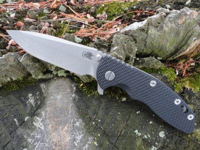 Hinderer XM-18 3.5 Spanto Working Finish - Black