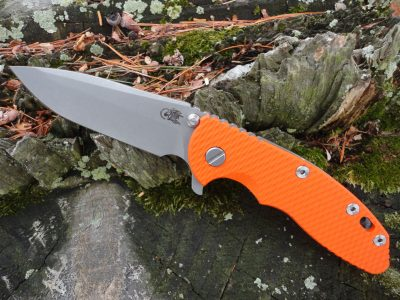 Hinderer XM-18 3.5 Spanto Working Finish - Orange