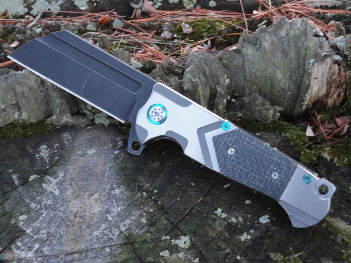 ADV Tactical Butcher DG-Glow Carbon Fiber