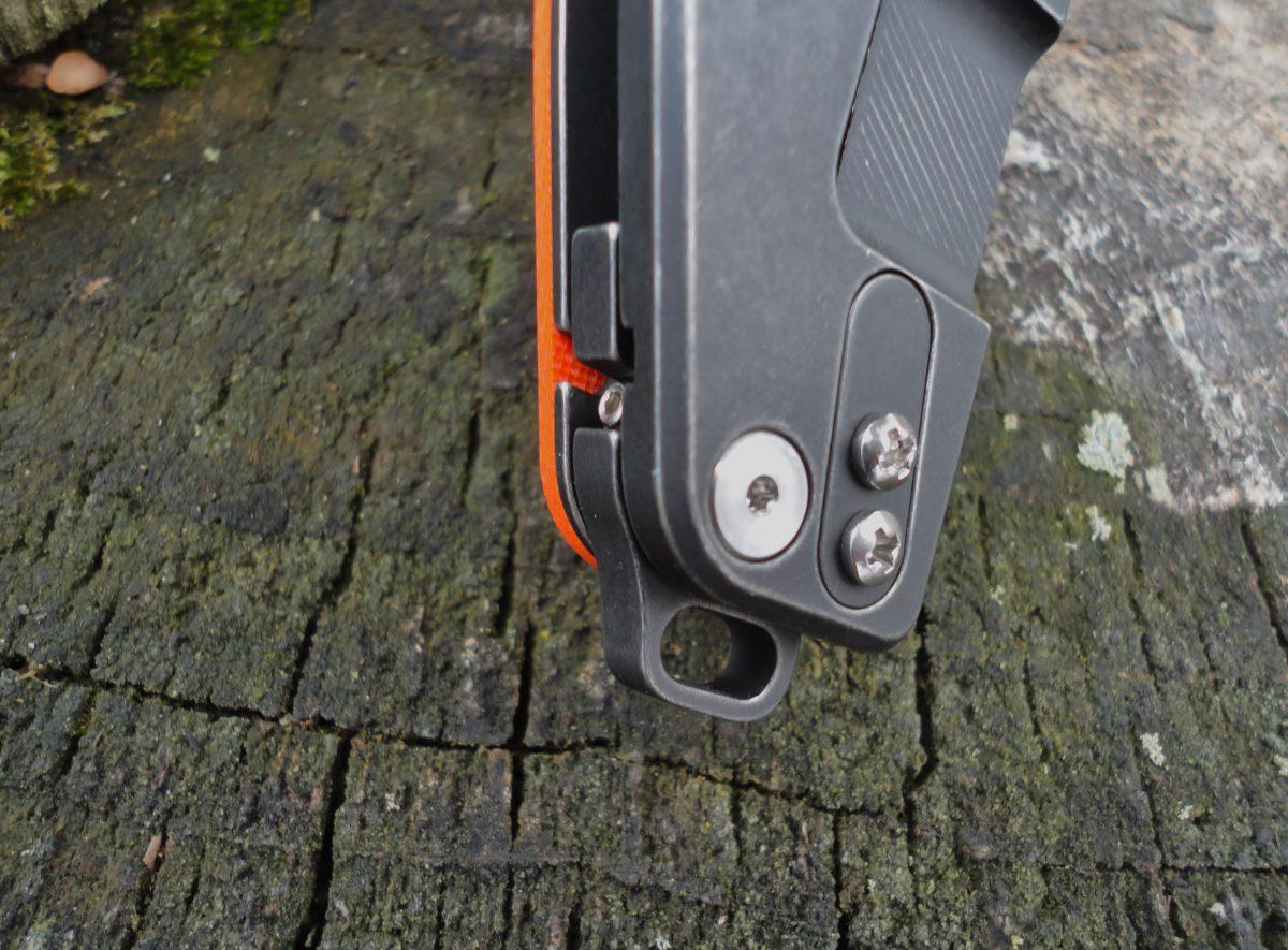 Hinderer Jurassic Slicer Battle Black - Orange
