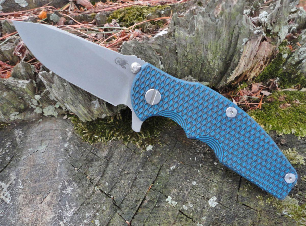 Hinderer Jurassic Slicer Battle Blue - Blue/Black
