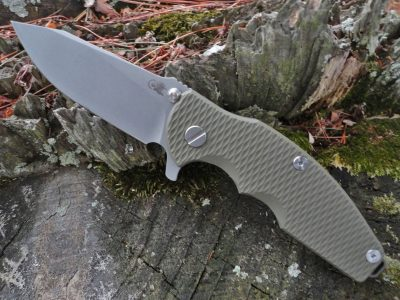 Hinderer Jurassic Slicer Battle Bronze - OD Green