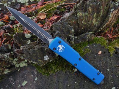Microtech 147-1BL Blue UTX-70
