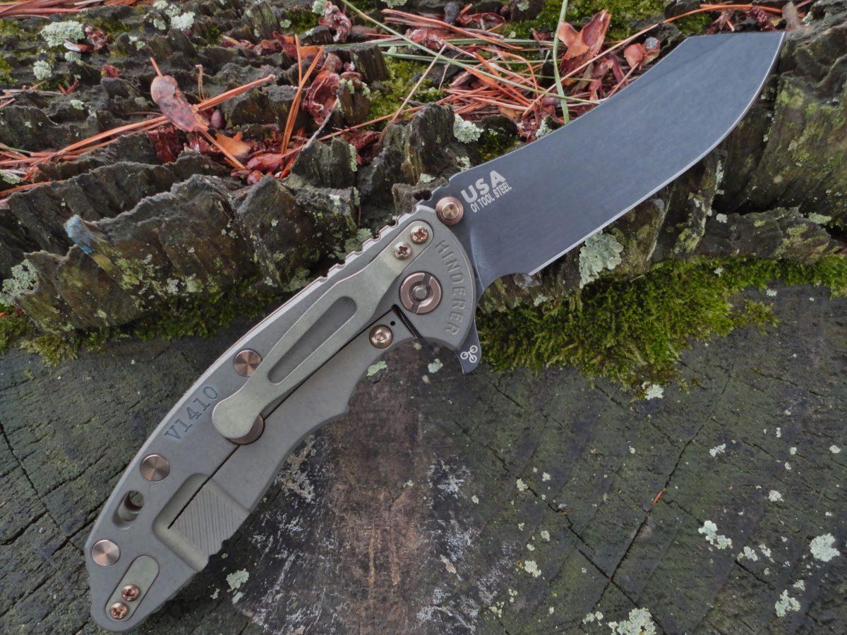 Hinderer XM-18 3.5 Skinner Vintage - Textured