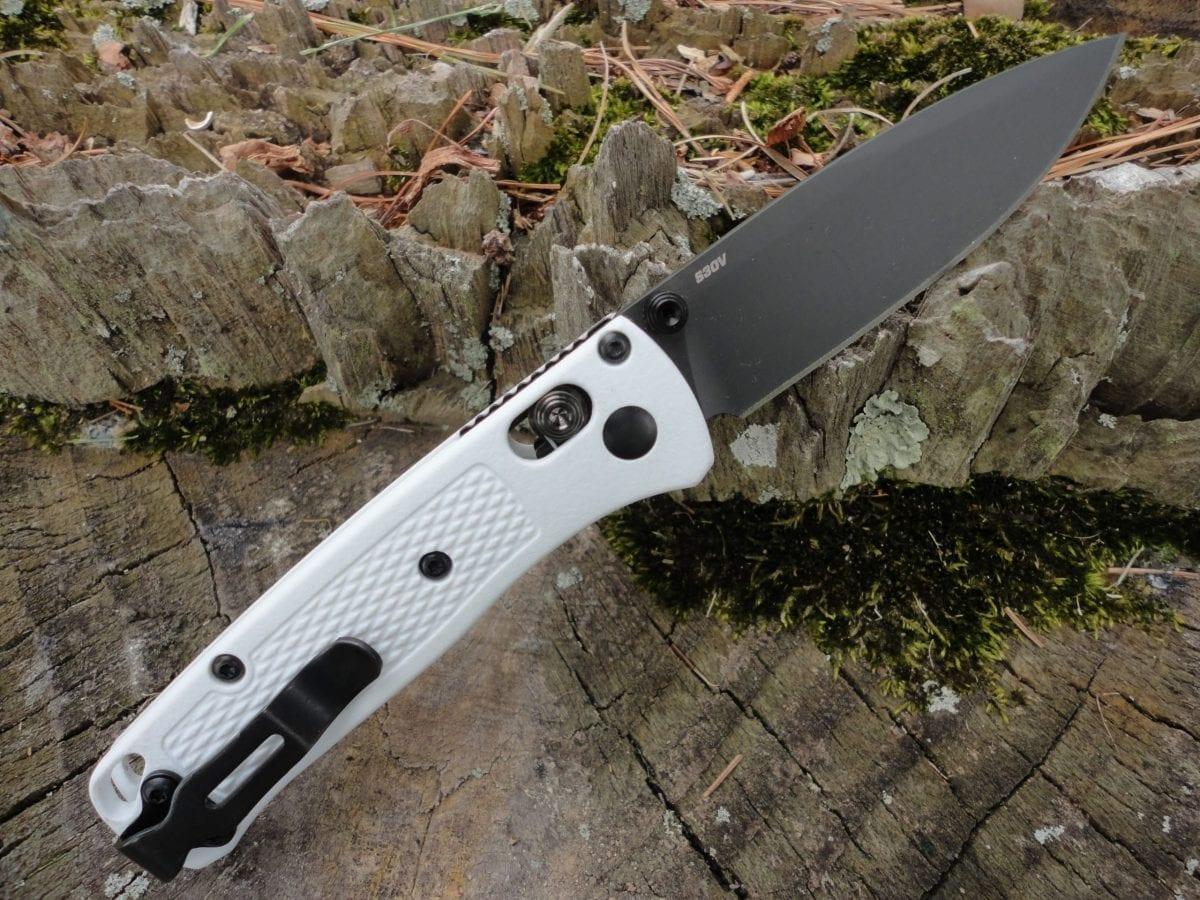 Benchmade 533BK-1 Mini Bugout-White