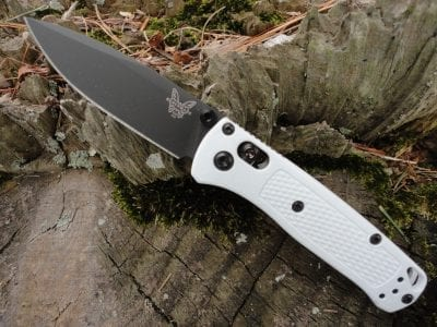 Benchmade 533BK-1 Mini Bugout-White