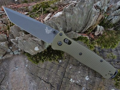 Benchmade 537GY-1 Aluminum Bailout