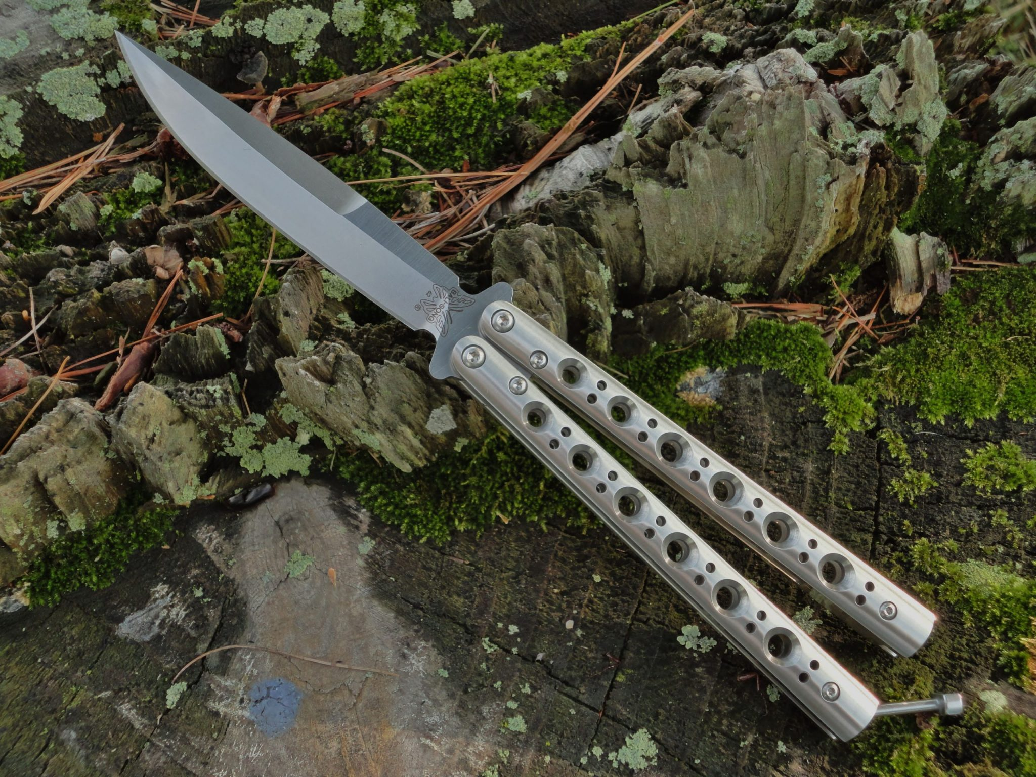 Benchmade 62 Weehawk Blade Balisong