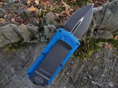 Microtech 157-1BL Blue Exocet