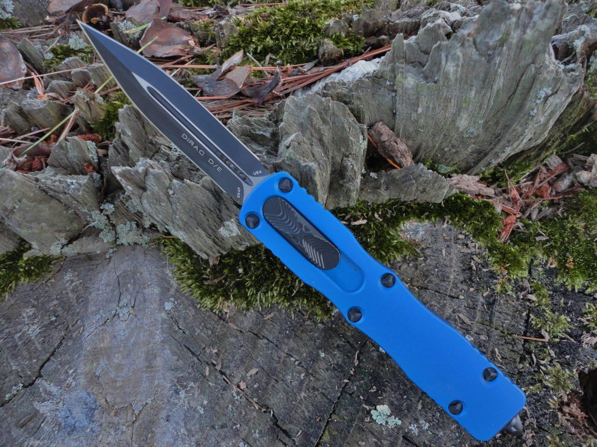 Microtech 225-1BL Blue Dirac