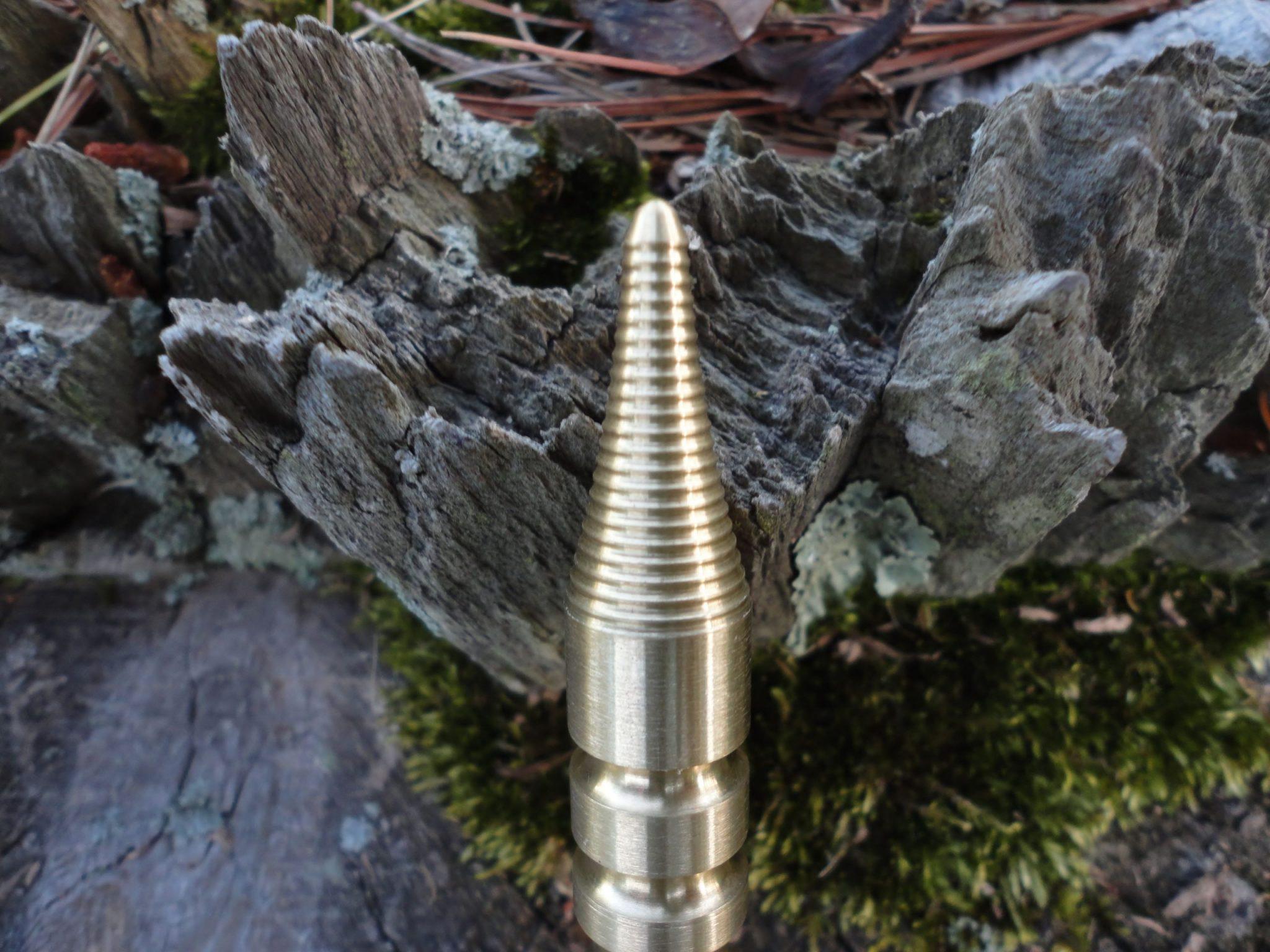 Hinderer LK-1 Brass (Little Kubaton)