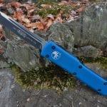 Microtech 149-1BL Blue UTX-70