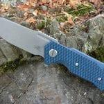 Hinderer Half Track Slicer Battle Blue - Blue/Black