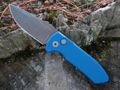 ProTech LG411-BLUE SBR (Short Blade Rockeye)