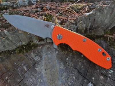 Hinderer XM-18 3.5 Spanto CPM-S45VN-Orange G-10