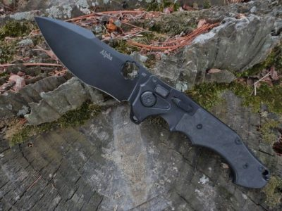 ADV Tactical Alpha-Carbon Fiber-Black Blade
