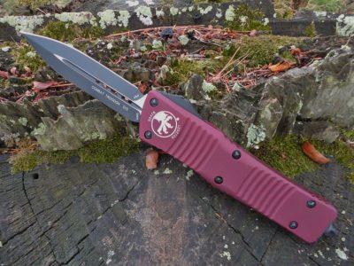 Microtech 142-1MR Merlot Combat Troodon