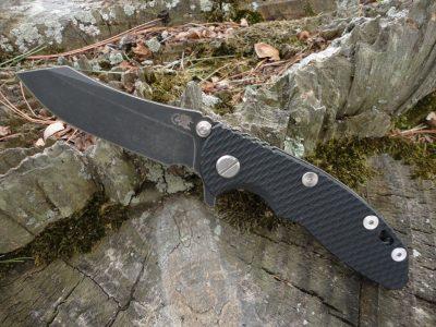 Hinderer XM-18 3.0 Skinner Battle Black - Black G-10
