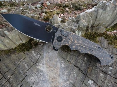 ADV Tactical Mini PitBoss-Copper Shred/Black Blade